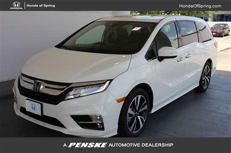 2019 New Honda Odyssey Elite Automatic At Honda Of Spring