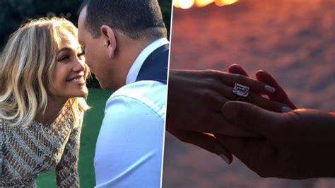 Jennifer Lopez Engaged To Alex Rodriguez