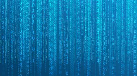 hd wallpaper digital  blue matrix