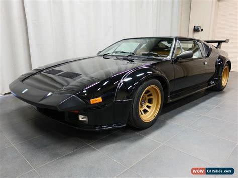 De Tomaso Pantera Gt5 by 1985 De Tomaso Pantera Gt5 For Sale In Canada