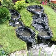 Wasserlauf Im Garten. wasserfall in meinem garten bauen video 2 ...
