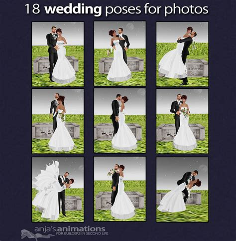 Poses For Wedding Photography Copyright Anjas Animations