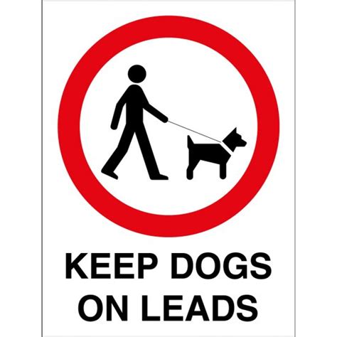 Where To Buy Display Cabinets by Keep Dogs On Leads Signs From Key Signs Uk