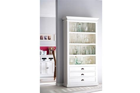 White Wood Bookcase by 15 Collection Of White Painted Bookcase