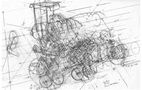 ferrari engine drawing drawings pinterest engine