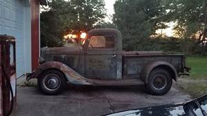 1935 Ford Pickup Truck 35 Flathead Barn Find Near Me For