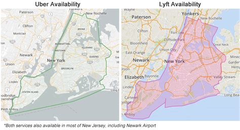Using Uber & Lyft To The Cape Liberty Cruise Port