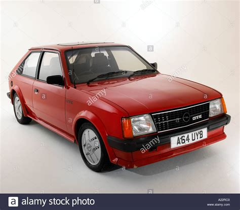 1983 Opel Kadett Gte Stock Photo, Royalty Free Image