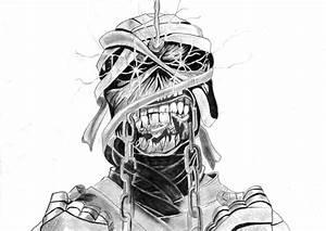 Eddie from Iron Maiden by The-Ginger-Artist on DeviantArt
