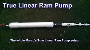 True Linear Ram Pump - Build