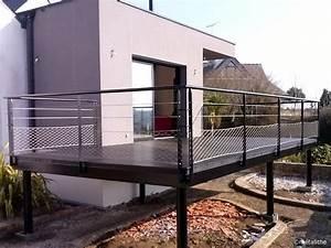Garde De Corps Terrasse : garde corps en fer pour fen tres terrasses balcons ~ Melissatoandfro.com Idées de Décoration