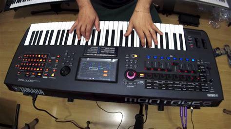 yamaha montage 8 yamaha montage eps piano teste