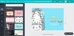 Carte Anniversaire Pour Enfant : envoyer une carte d anniversaire gratuite pour enfant canva ~ Melissatoandfro.com Idées de Décoration