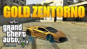 Grand Theft Auto Online - GOLD ZENTORNO! - Custom Paint ...