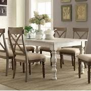 Dining Table Set Under 50 by Aberdeen Wood Rectangular Dining Table Only In Weathered Worn White By Rivers