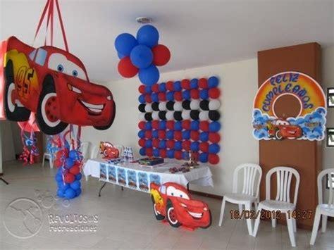 decoracion fiesta tematica cars youtube
