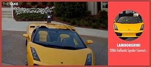 Dominic Cooper Lamborghini 2006 Gallardo Spyder ...