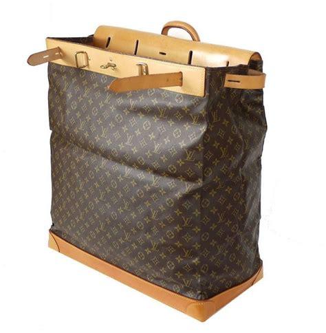 louis vuitton monogram steamer bag  travel bag rare  stdibs