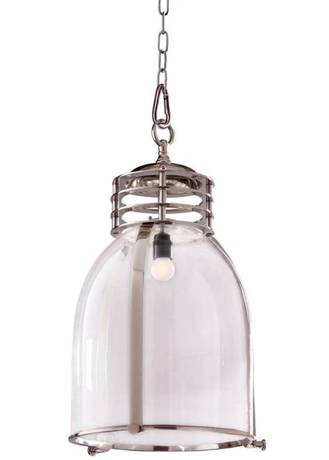 induction glass chrome industrial pendant from d epoca