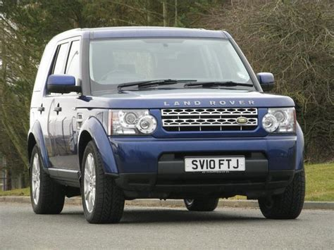 blue land rover discovery used blue land rover discovery 2010 diesel 3 0 tdv6 gs 4x4