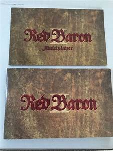 Red Baron Ii Multiplayer Sierra Pc Manual Reference Guides
