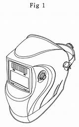Welding Helmet Drawing Welder Google Skull Vector Mask Tattoo Sketch Coloring Outline Pages Helmets Template Patents Stencils Dc Templates sketch template