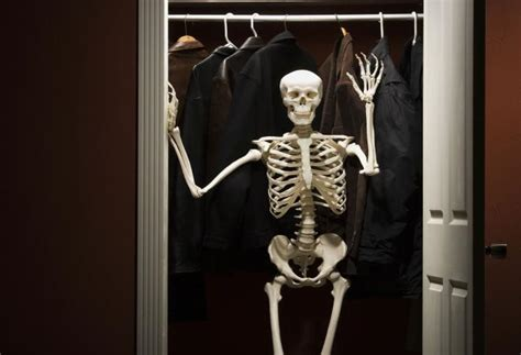 skeleton in the closet skeletons you might find in your spouse s closet lovetoknow