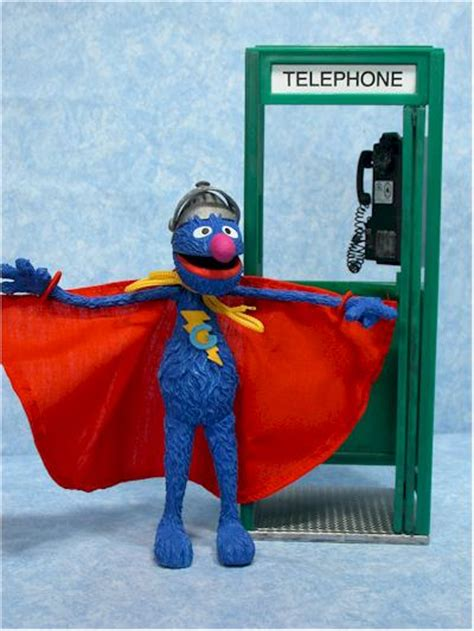 sesame street super grover action figure  toy
