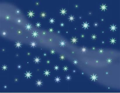 Sky Starry Stars Clipart Milky Way Vector