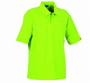 Neon Green Polo Shirts