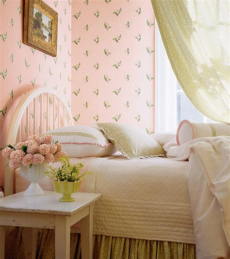 wonderful vintage style wallpaper for a 40s 50s or 60s bedroom retro renovation