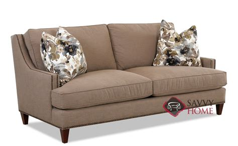 Dallas Fabric Stationary Sofa By Savvy Is Fully