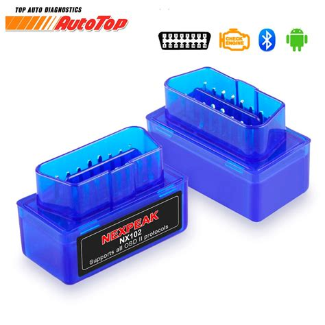 obd  elm obd bluetooth adapter elm   auto diagnostic scanner  cars android
