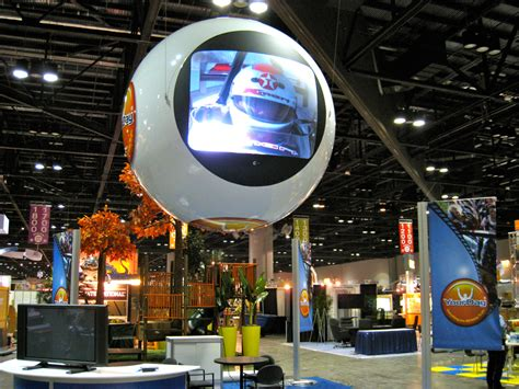 multimedia inflatable tradeshow displays custom