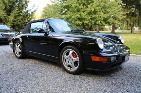 new porsche 4 door purchase used 1993 porsche 911 carrera 4 convertible 2
