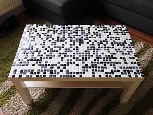 Mosaik Selber Fliesen Auf Altem Tisch : ikea lack wohnzimmertisch mit mosaik versch nern bj rn 39 s techblog ~ Watch28wear.com Haus und Dekorationen