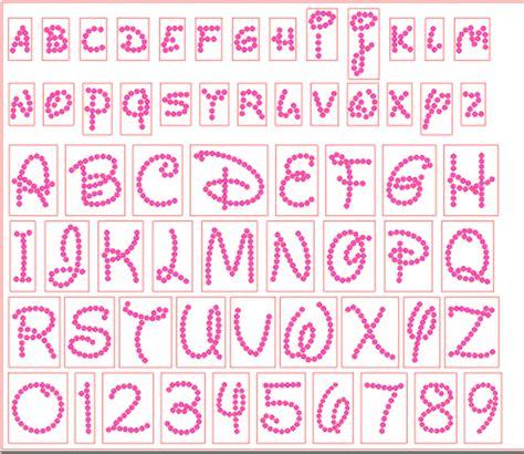 disney letter template 12 rhinestone font template images rhinestone templates free disney font alphabet letter