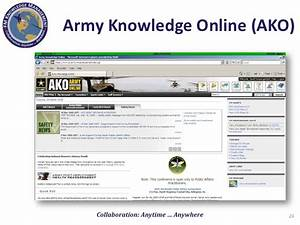 ako army knowledge online ako login autos post With continuity book army template