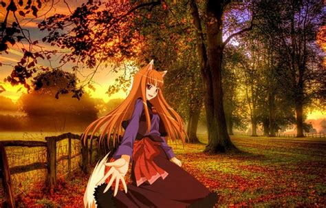 Autumn Anime Wallpaper - wallpaper autumn background anime landscape