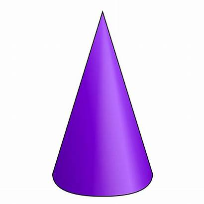 Cone Shape Clipart 3d Nets Geometry Solids