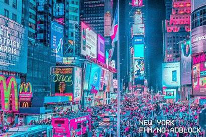Future Vibrant York Adblock Vaporwave Step Ad