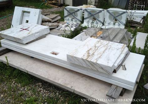 salvaged marble i looked at for possible diy kitchen