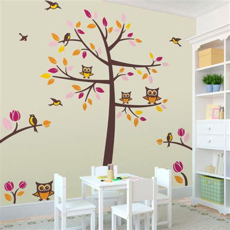 papier peint pour chambre bébé stickers muraux d arbres webstickersmuraux