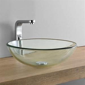 Waschbecken Glas Rund : nadgradni umivaonik za pult stol okrugli staklo 42x42cm ~ Markanthonyermac.com Haus und Dekorationen