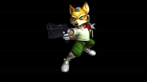 super smash bros melee fox taunt youtube