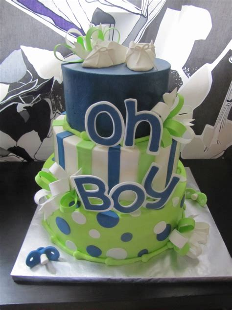 baby shower cake boy oh boy baby shower cake cakecentral