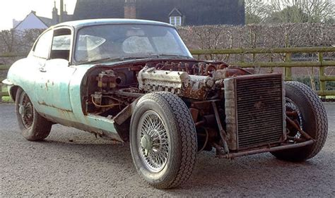 E-type Jaguar Left To Rust For Decades For