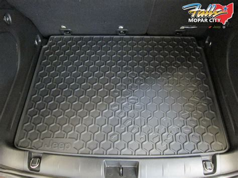 2015-2016 Jeep Renegade Rear Rubber Cargo Trunk Tray Liner