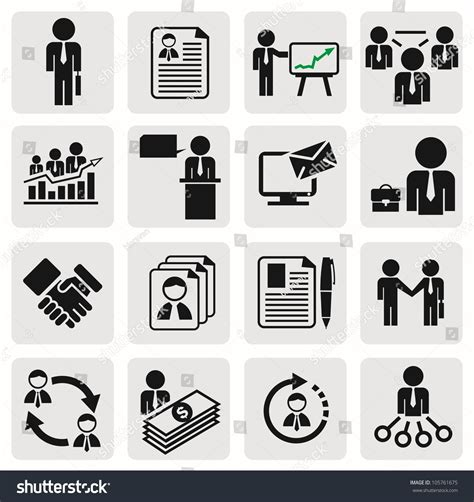14701 business icon vector business icon vector www pixshark images galleries