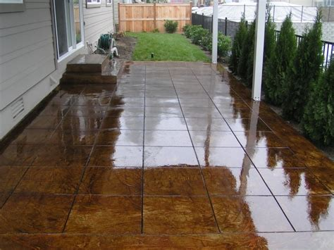 staining concrete patio acid stained concrete master concrete resurfacing sydney